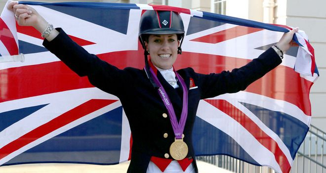 Equestrian: In the Individual Dressage Charlotte Dujardin wins our home team a Gold Medal!