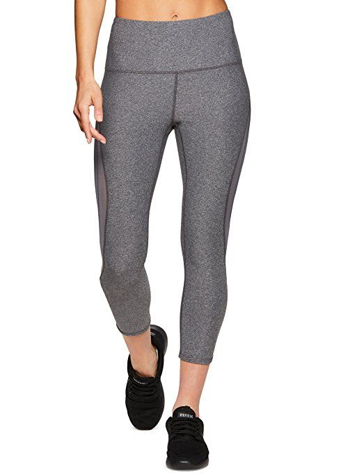 a6b35420fc092c RBX Active Women's Workout Yoga Leggings 18 Charcoal XL at Amazon Women's  Clothing store: