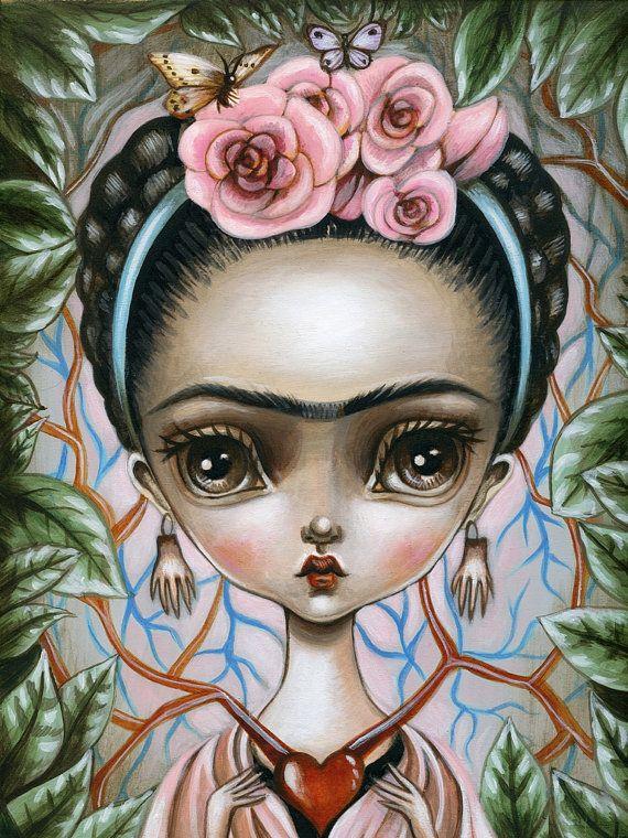 Lauren Saxton ~ Frida's Heart