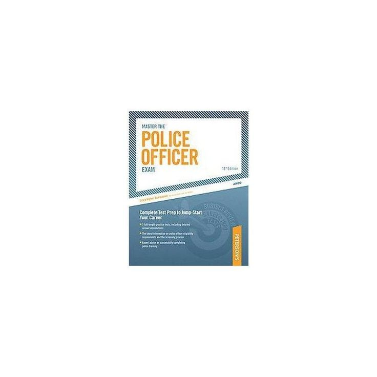 Peterson's Master the Police Officer Exa ( Master the Police Officer Exam) (Paperback) #policeexam