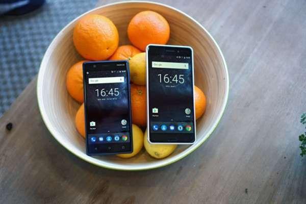 Tutta la gamma Nokia in preordine in UK, prezzi più alti del previsto - Nell'immagine possiamo ammirare il Nokia 3 e il Nokia 6, la proposta entry level e il top della fascia media Dall'Inghilterra l'intera gamma Nokia in preordine sullo shop di Clove: Nokia 3 a 149£, Nokia 5 a 189£ e Nokia 6 a 229£. Anche la versione rivisitata del 3310 verrà... -  https://goo.gl/pSnj0k - #HMD, #Nokia, #Nokia3, #Nokia3310, #Nokia5, #Nokia6