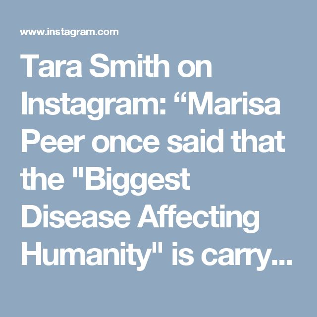 "Tara Smith on Instagram: ""Marisa Peer once said that the ""Biggest Disease Affecting Humanity"" is carrying the mental model that we are 'not enough'. When we…"" • Instagram"