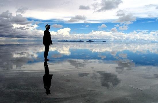 볼리비아 우유니 소금 사막
