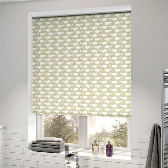 Splash Sealife Beige Roller Blind from Blinds 2go