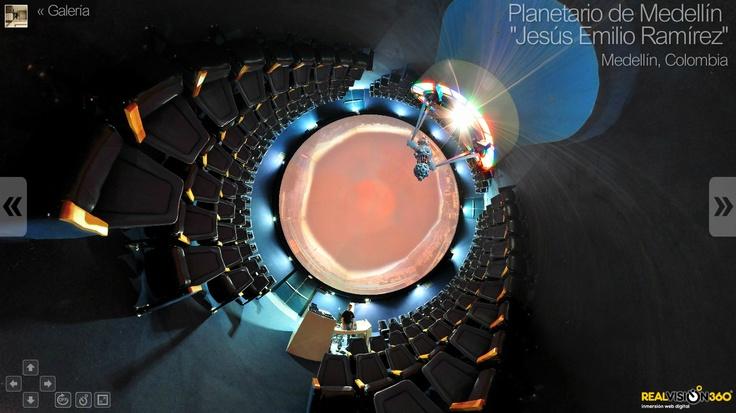 A #tinyplanet inside a #planetarium