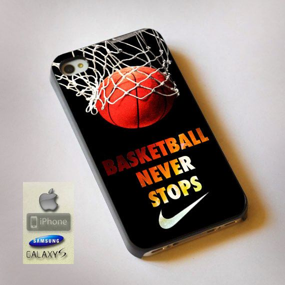 Never Stop Nike Basketball  Print on Hard Plastic by TrafficLights, $15.89