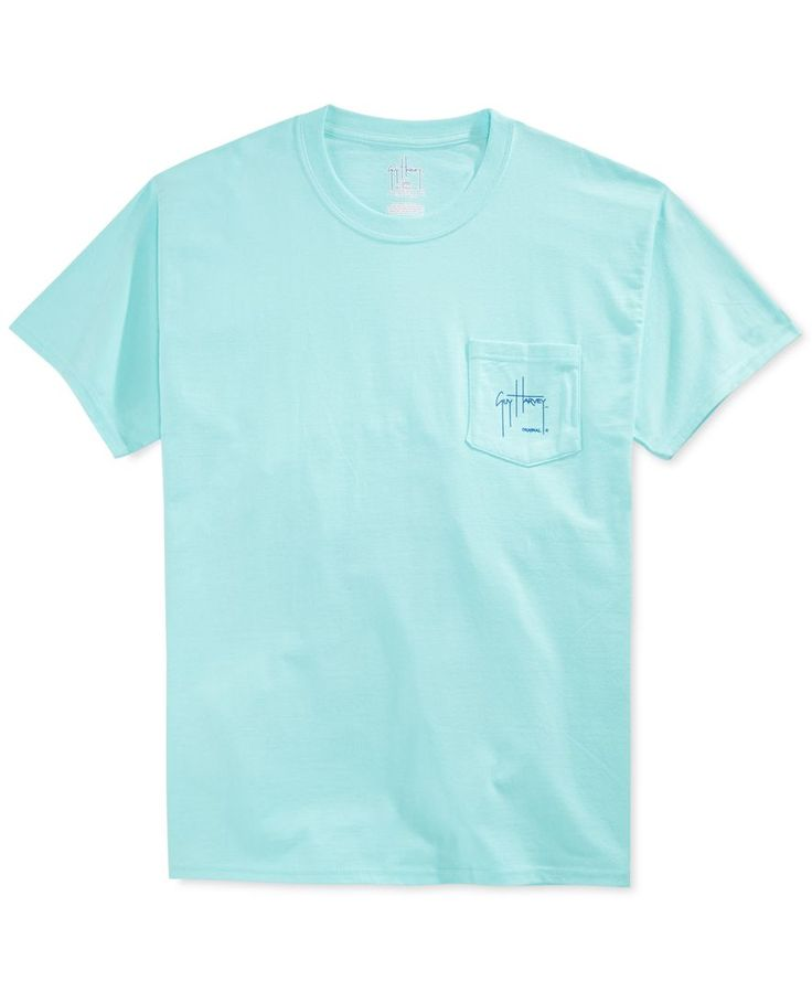 Guy Harvey Marlin Boat Pocket T-Shirt