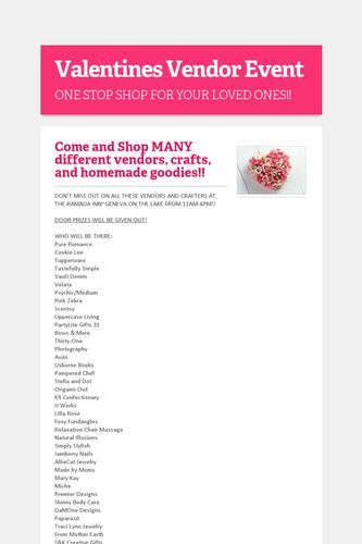 Best Vendor Event Images On   Craft Business