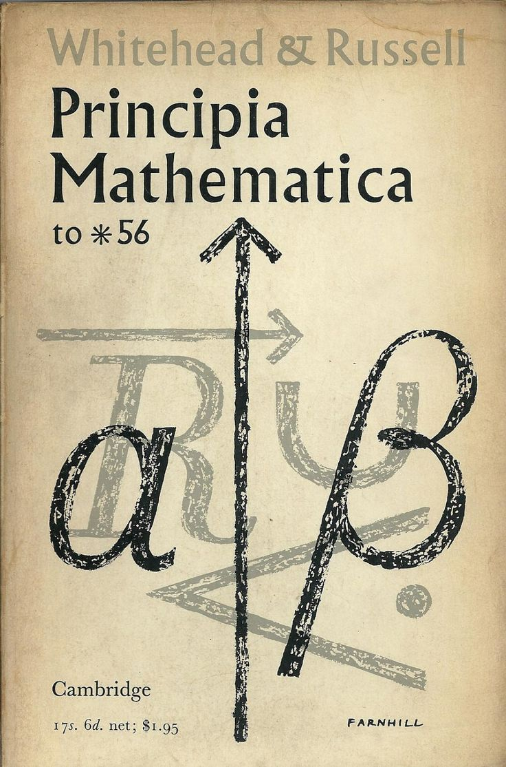The Principia Mathematica (often abbreviated PM) is a three-volume work on the foundations of mathematics, written by Alfred North Whitehead and Bertrand Russell and published in 1910, 1912, and 1913
