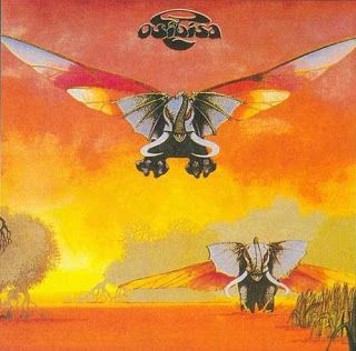 Osibisa - Osibisa album cover Roger Dean best known for his Yes album covers.