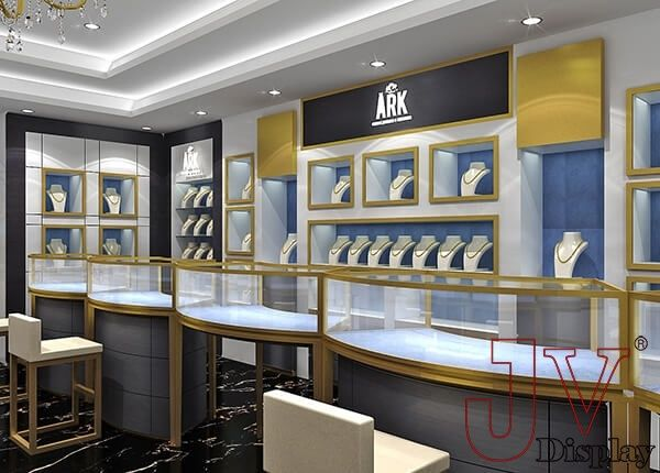 Jewellery Counter With Images Showroom Interior Design Store