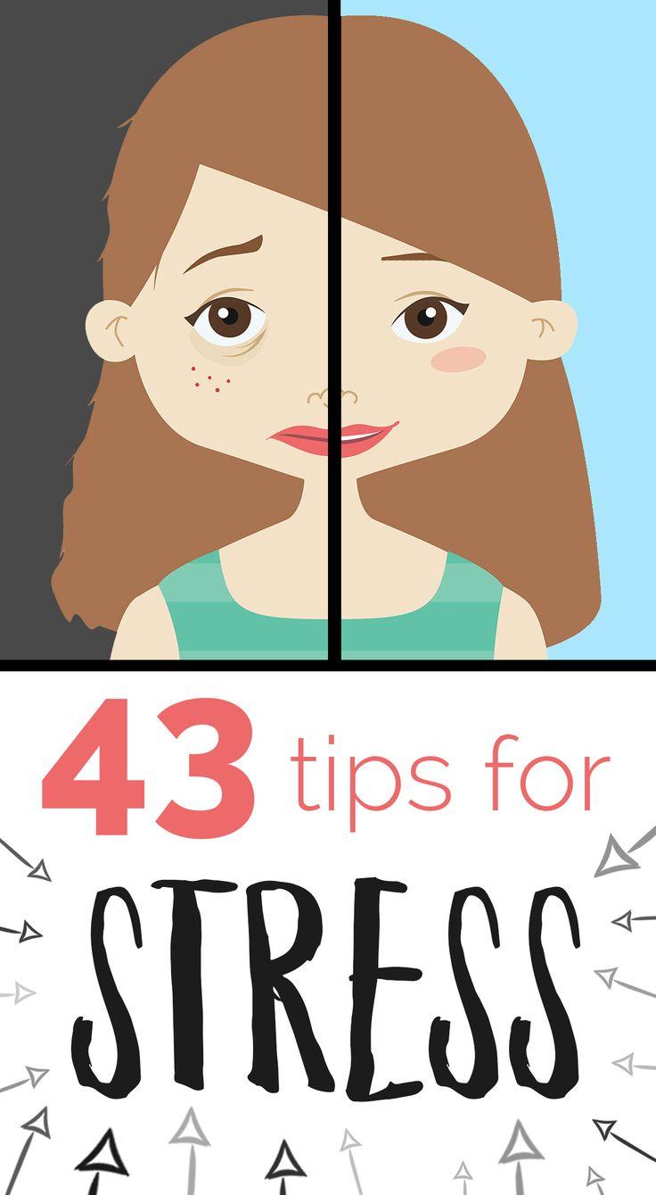 43 tips to reduce STRESS: http://blog.stresscompany.com/43-ways-to-reduce-stress/