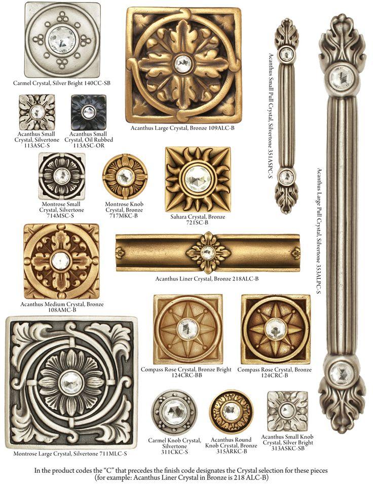 Bronze Art Tile With Crystals, Bronze Liners with Crystals, Bronze Medallions With Crystals, Bronze Pulls with Crystals | Saint Gaudens Tile----www.conceptcandie.com Concept Candie Interiors-Accent Tiles --Concept Candie Interiors offers virtual interior design services