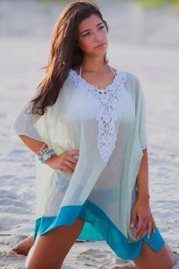 Embroidered V Neck Beach Cover-Up  Item No : DP41211  Price : $29.99 (Was $44.99!)  Size S/M/L only available.   To order today, please email us at DiePrettyClothing@gmail.com     We look forward to hearing from you!   ~ Die Pretty Clothing Co. www.facebook.com/DiePrettyClothing