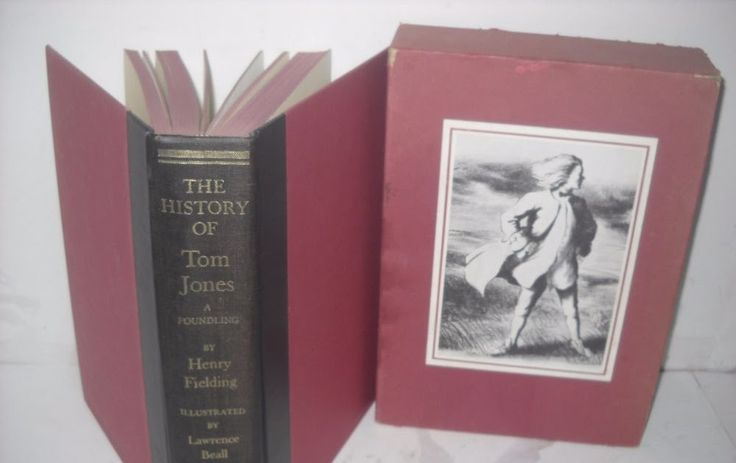 The History of Tom Jones A Foundling by Henry Fielding  HC/ Slipcase  Free S&H