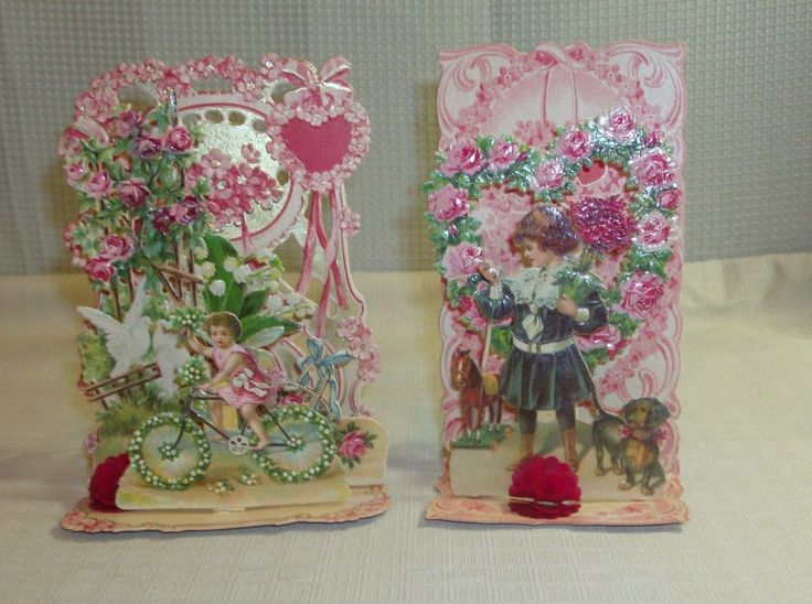 victorian valentines day cards