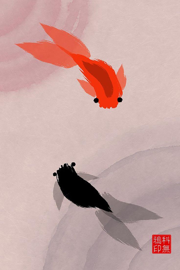 Afbeeldingsresultaat voor zen brush fish