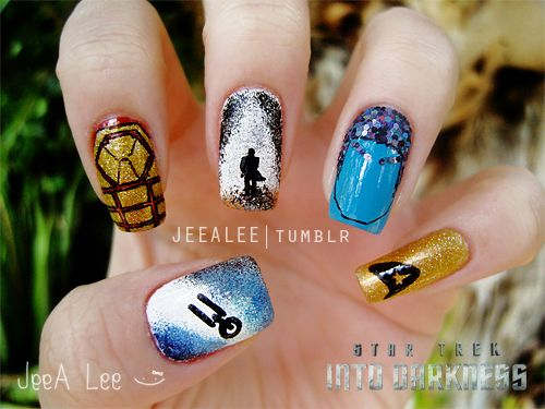 Awesomely Geeky Nail Designs   The Mary Sue