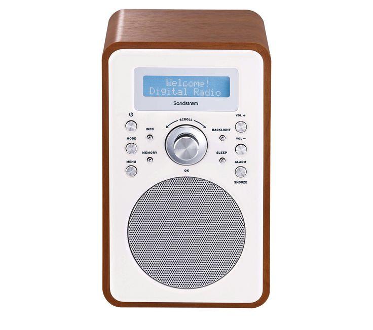 SANDSTROM S6VDAB12 DAB Radio - Walnut