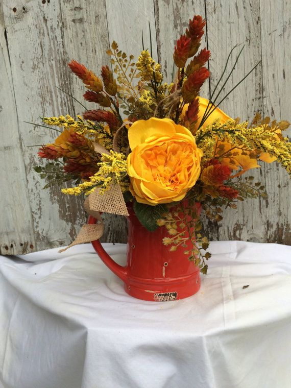 Fall Table Centerpiece Fall Table Decorations by marigoldsdesigns