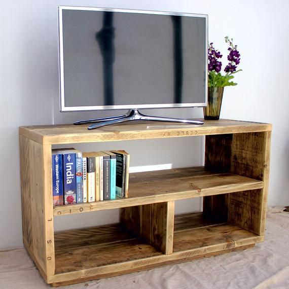 This Salvaged Recycled And Reclaimed Wood Tv Stand Will Be