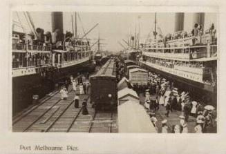 Port Melbourne Pier, Melbourne Australia