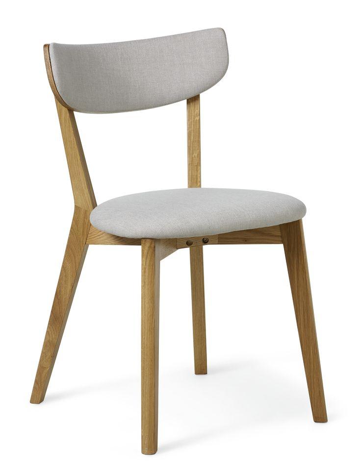 Retro stol i lättskött material. Sits i praktisk konstläder. Köp gärna till tillhörande matbord, förvaringsmöbler samt soffbord och mediabänk.
