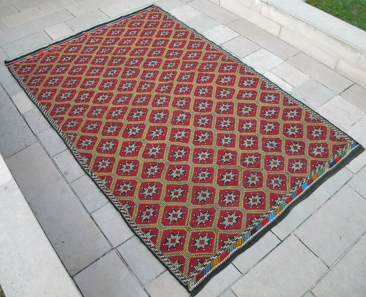 Turkish Rugs Hand Weaving Dyes Goats Wool Ebay Hands Vintage For The Home