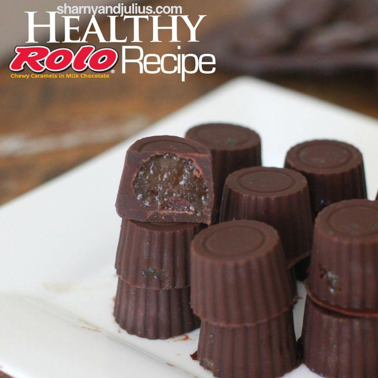 Healthy Rolo Recipe | Sharny and Julius