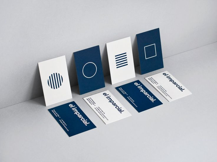 18 best business cards inspiration images on pinterest carte el imparcial is a restaurant bar and concept store located in madrid their philosophy is to fill all their spaces with artists expositions conferences reheart Gallery