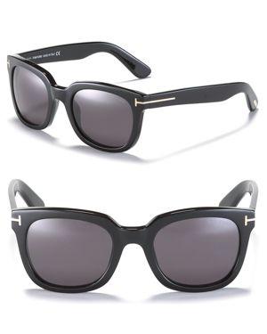 Tom Ford Campbell Wayfarer Sunglasses