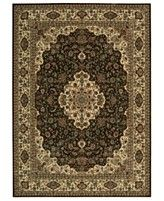 "MANUFACTURER'S CLOSEOUT! Nourison Area Rug, Persian Arts BD02 Chocolate 3' 6"" x 5' 6"""