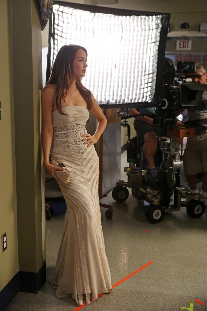 Behind the scenes of Grey's Anatomy with Jo Wilson played by Camilla Luddington.