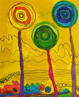 17 Best Images About Teacher Resources Hundertwasser Art