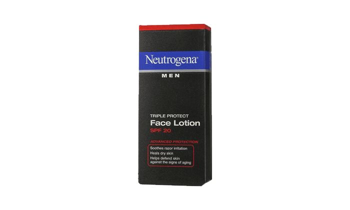 Best Inexpensive Men's Moisturizer: Neutrogena Triple Protect Face Lotion for Men SPF 20