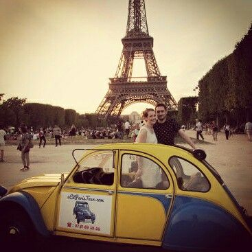 #2cv and #eiffel tower in #Paris!