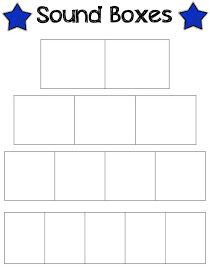Guided reading reading and first grade on pinterest for Elkonin boxes template