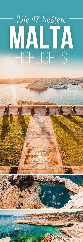 Malta Highlights: Was kann man auf Malta machen? Die 17 besten Malta Highlights, Sehenswürdigkeiten und Insidertipps für deinen Malta Urlaub. Valletta ist Kulturhauptstadt 2018! #malta #valetta #urlaub #reistipps