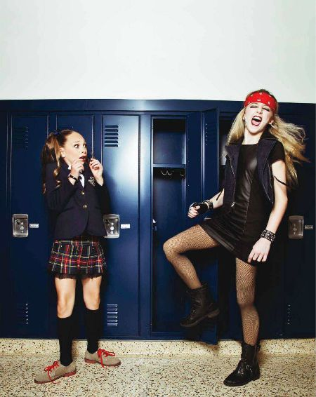 Magazine Photo-shoot Maddie and Chloe. Love it!!