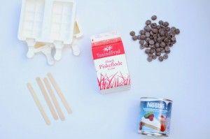 Hjemmelavet is af kondenseret mælk - Annettes kager og andre lækkerier