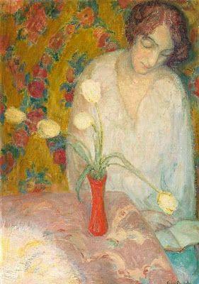 Berghe, Frits van den (1883-1939) Lezen, 1915