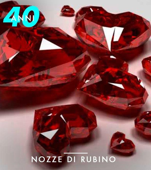40 Anni Nozze Di Rubino Colore Corrispondente Rosso 40 Anniversario Di Matrimonio Anniversario Di Matrimonio Anniversario