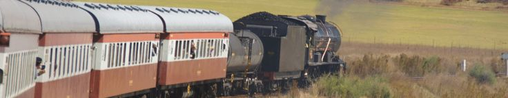 Reefsteamers. Johannesburg to Magaliesburg steam train trip & enjoy lunch at River Lodge