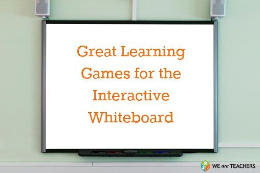 Great Learning Games for the Interactive Whiteboard #weareteachers