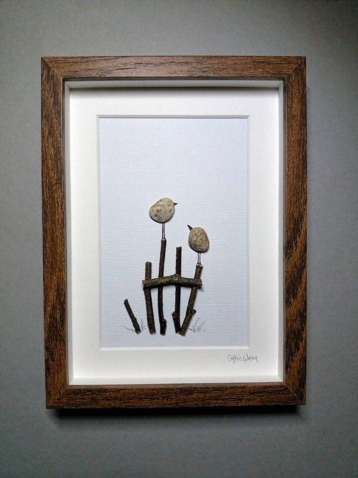 Freckled Friends, a handmade, pebble art gift from Ireland. by CelticWrenPebbleArt on Etsy https://www.etsy.com/listing/575007648/freckled-friends-a-handmade-pebble-art