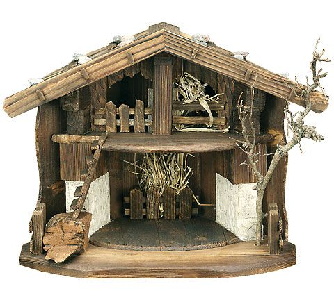Nativity Stable by Lepi - Barn design - Manger Scenes