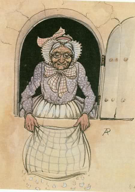Vrouw Holle - Anton Pieck's Mother Holle