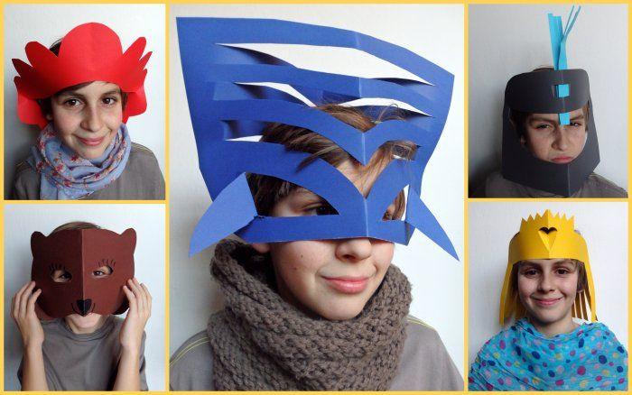 Maska na karneval za 5 minut? -