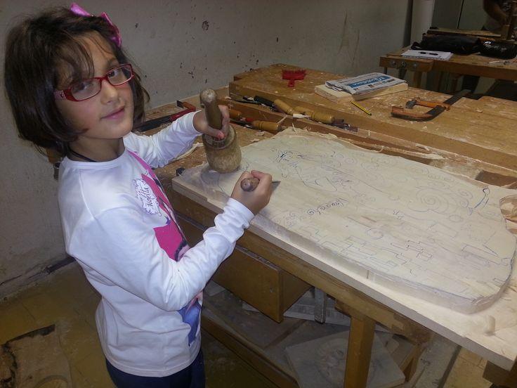la mia aiutante mia figlia