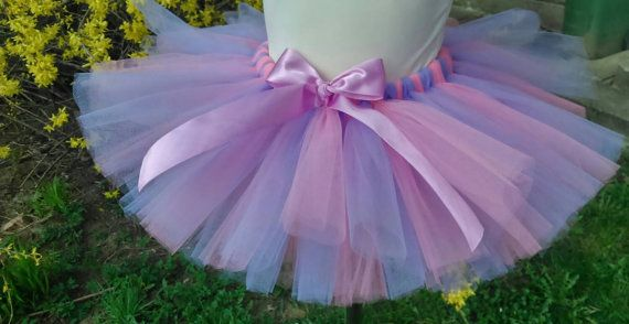 Spring - paris pink - lilac - baby girl – girl tutu – wedding – birthday – party - christianing – pageant